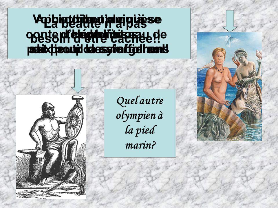 Qui est lautre couple connu sur lolympe ? Le couple royal de lOlympe est formé de Zeus et de Héra. Zeus sidentifie à deux attributs : Son oiseau majes