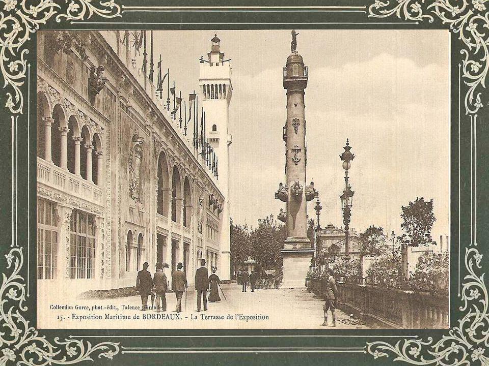 Nous sommes à Bordeaux, en lan de grâce 1907, Cest la Belle époque.