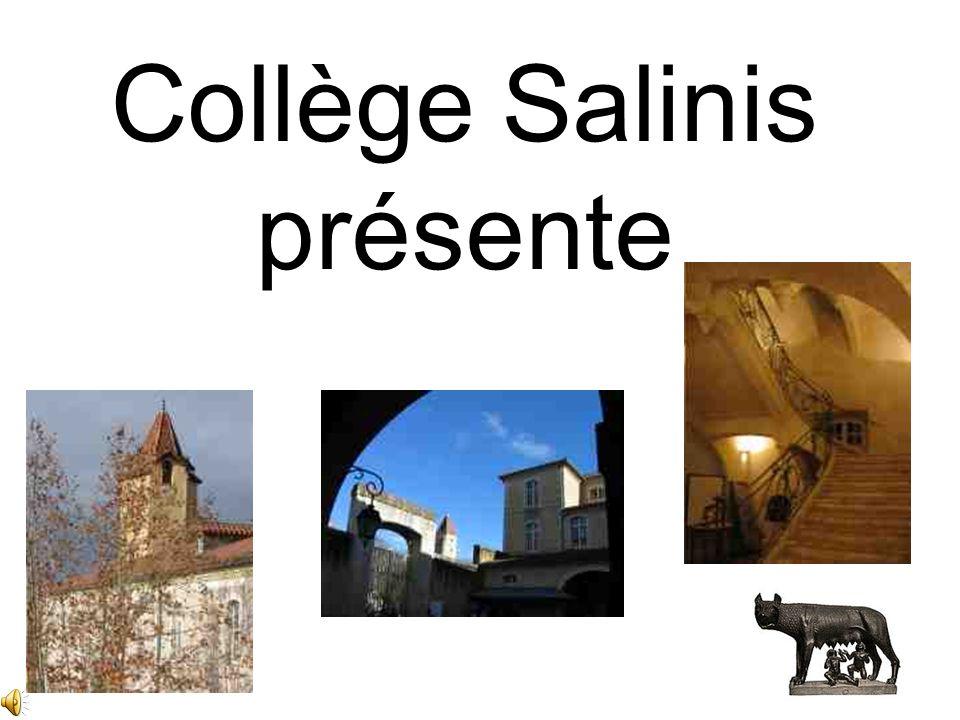 Collège Salinis présente