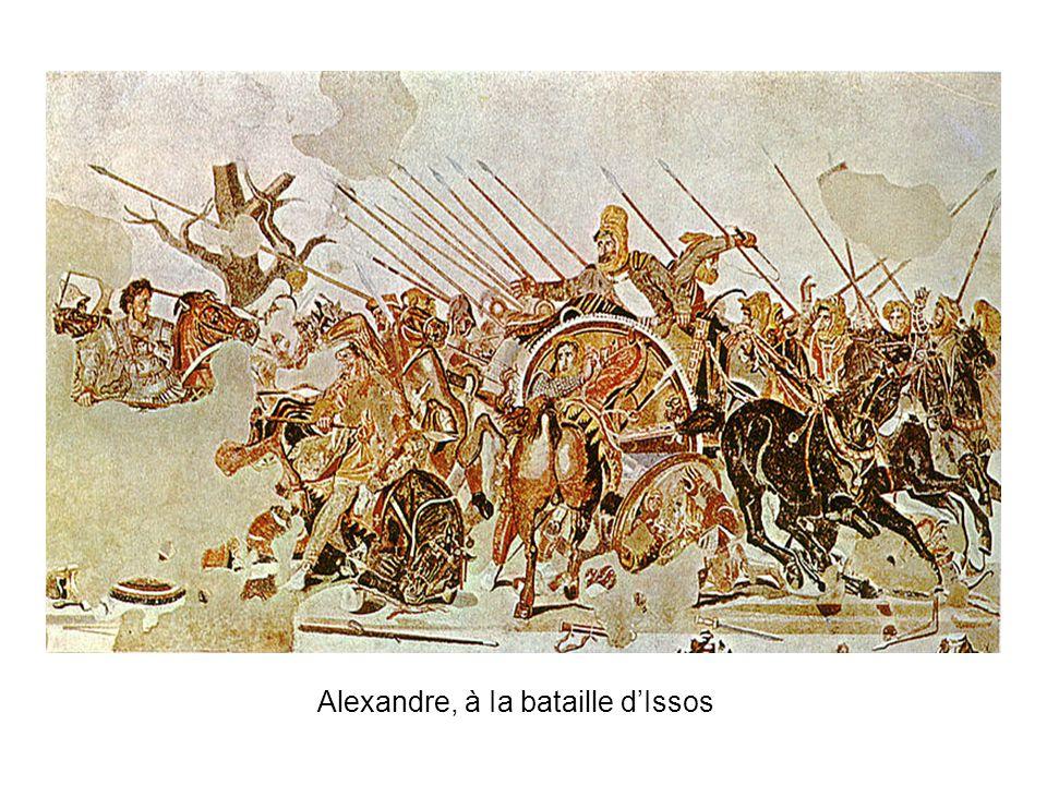 Alexandre, à Ia bataille dIssos