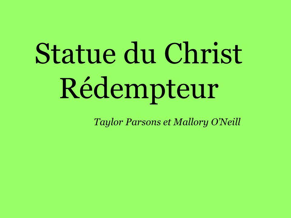 Statue du Christ Rédempteur Taylor Parsons et Mallory ONeill