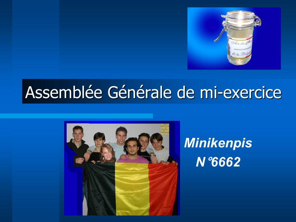 Assemblée Générale de mi-exercice Minikenpis N°6662