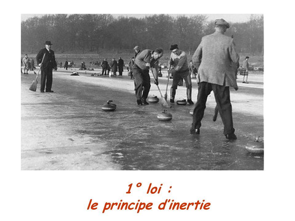 1° loi : le principe dinertie