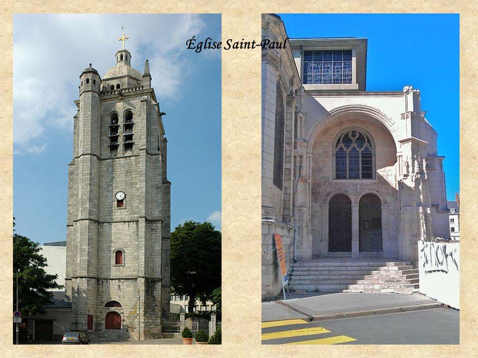 L'ancienne église Saint - Euverte