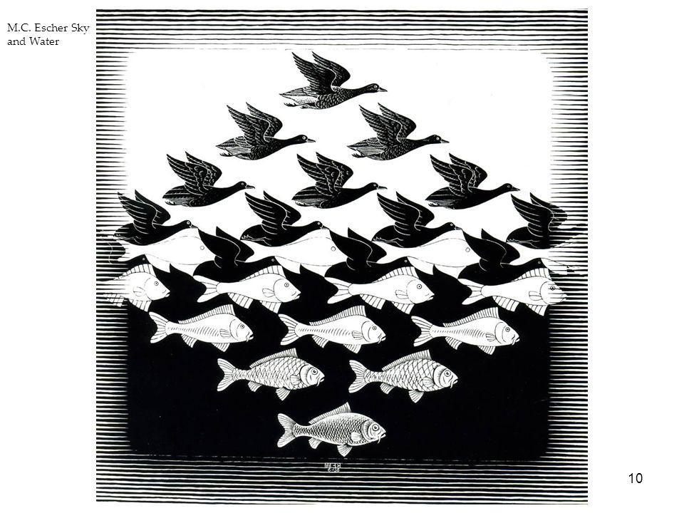 10 M.C. Escher Sky and Water