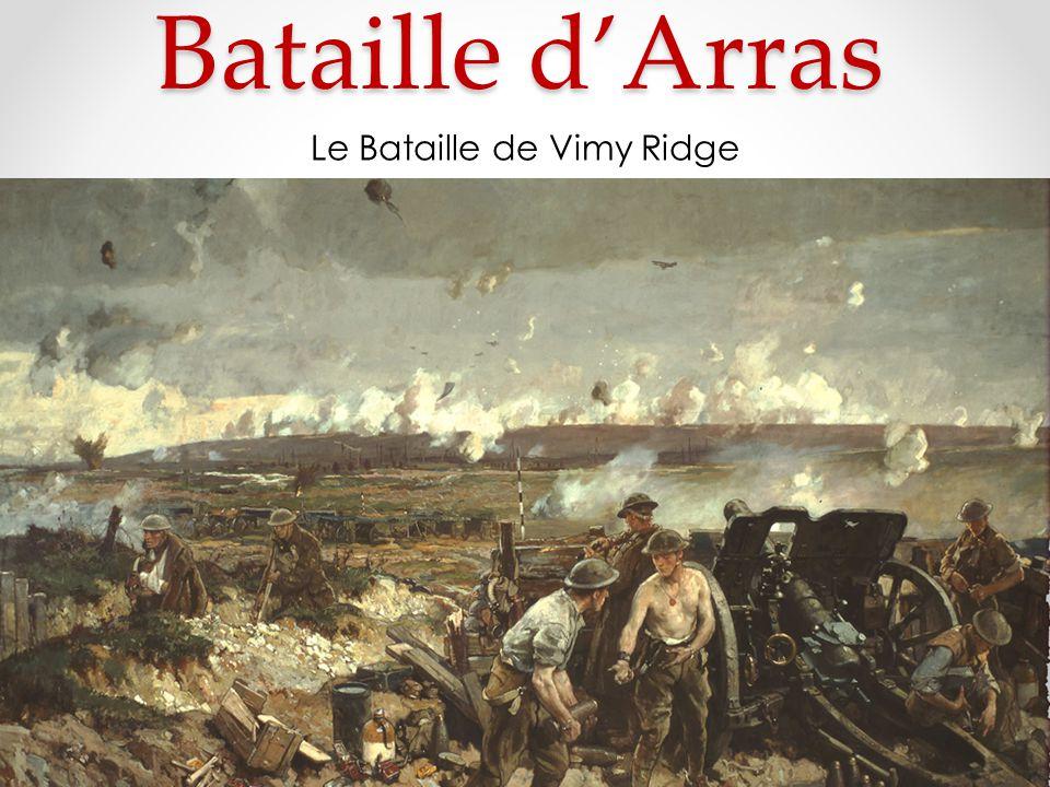 Bataille dArras Le Bataille de Vimy Ridge