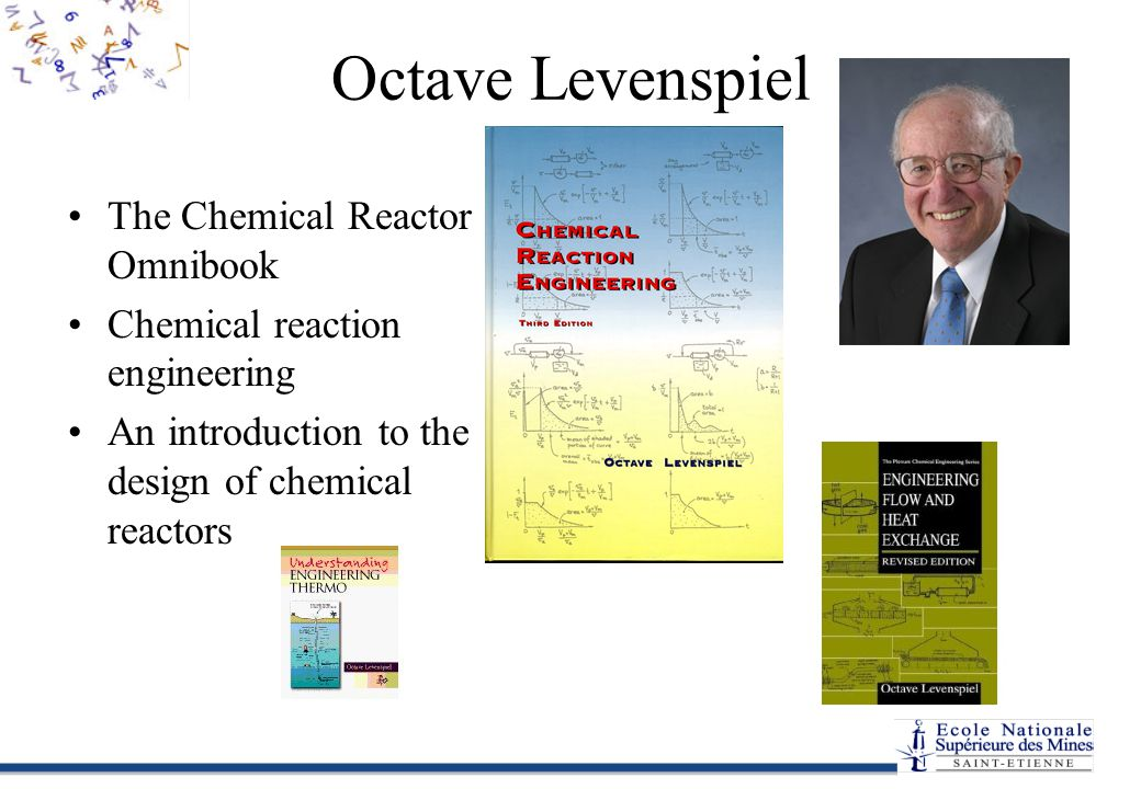 Octave Levenspiel The Chemical Reactor Omnibook Chemical reaction engineering An introduction to the design of chemical reactors