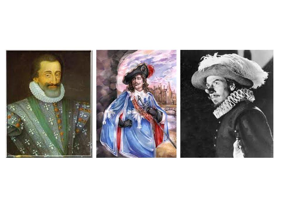 Henry IV Dartagnan Cyrano de bergerac