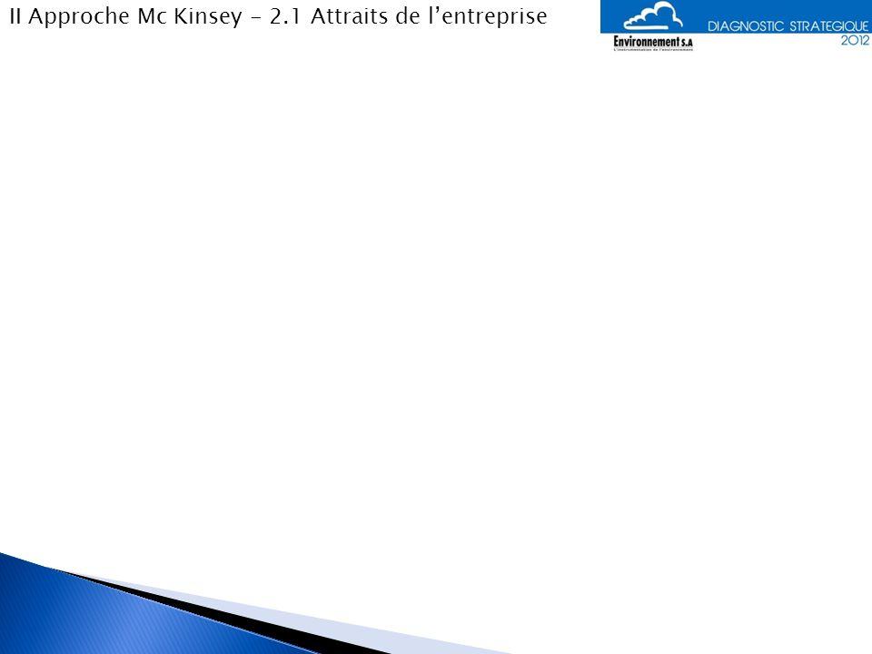 II Approche Mc Kinsey - 2.2 Atouts du marché