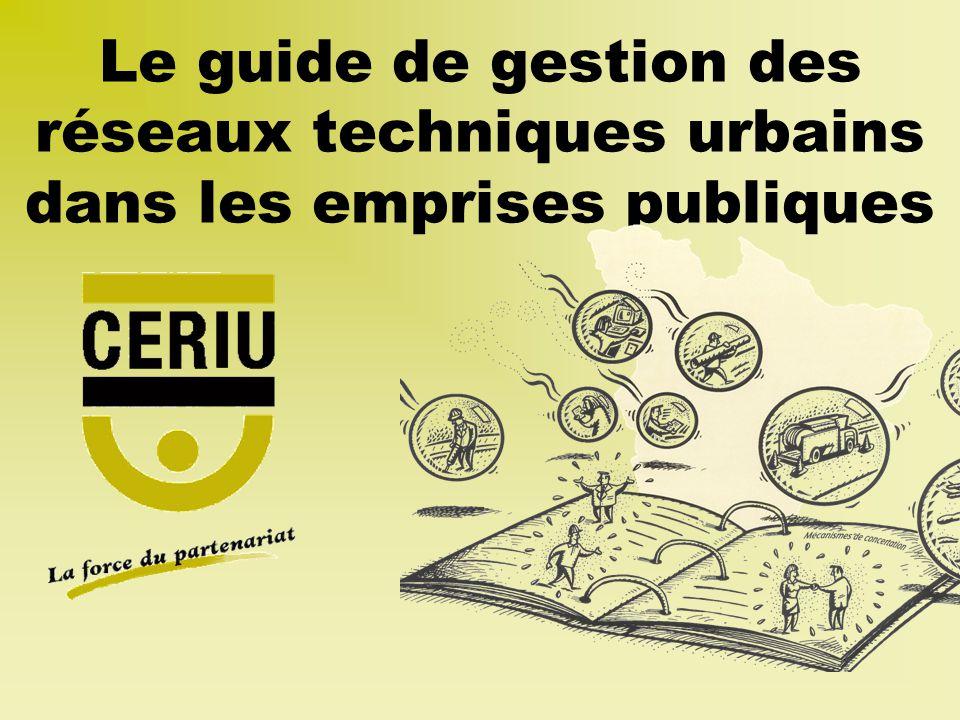 Le guide de gestion des réseaux techniques urbains dans les emprises publiques