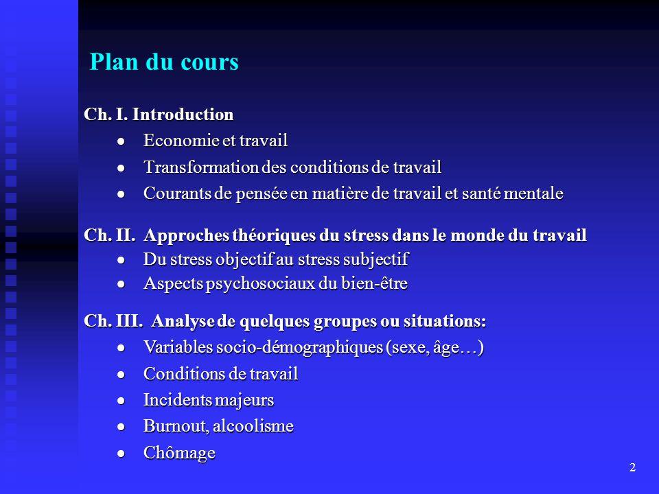 2 Plan du cours Ch.I.