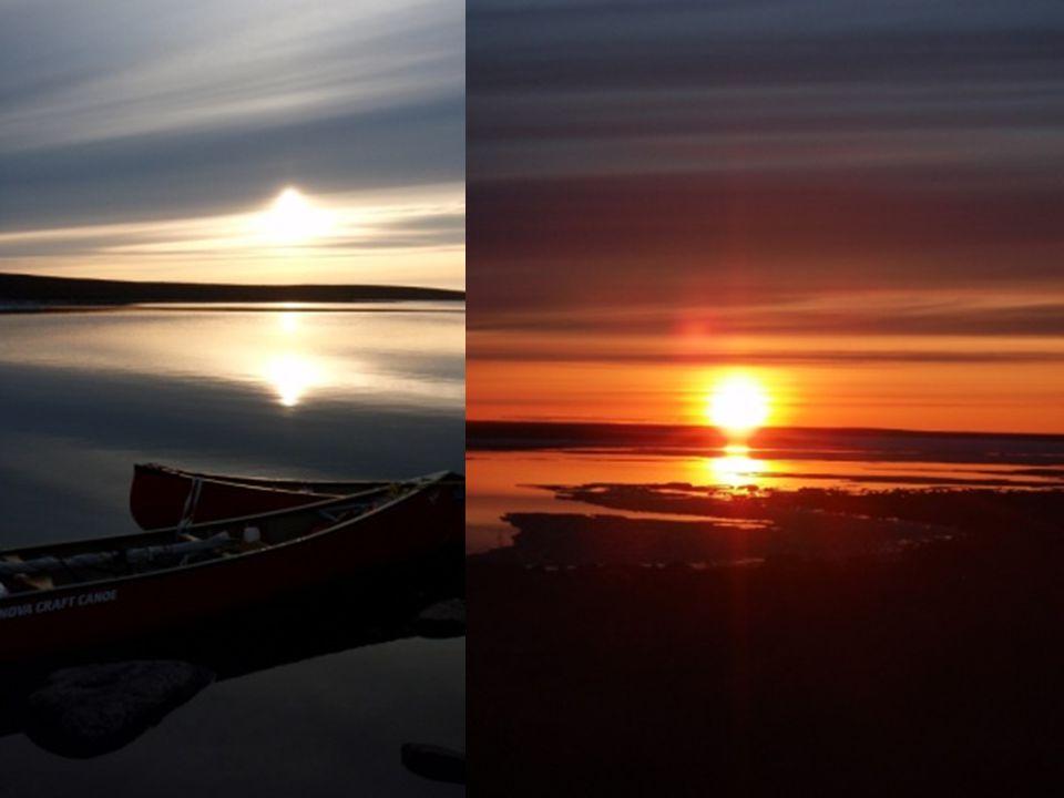 DArtillery Lake au Hanburry Portage Plus de 120 km de glace sous un ciel peu clément A la recherche de leau ! Premier caribou Premières mauvaises surp
