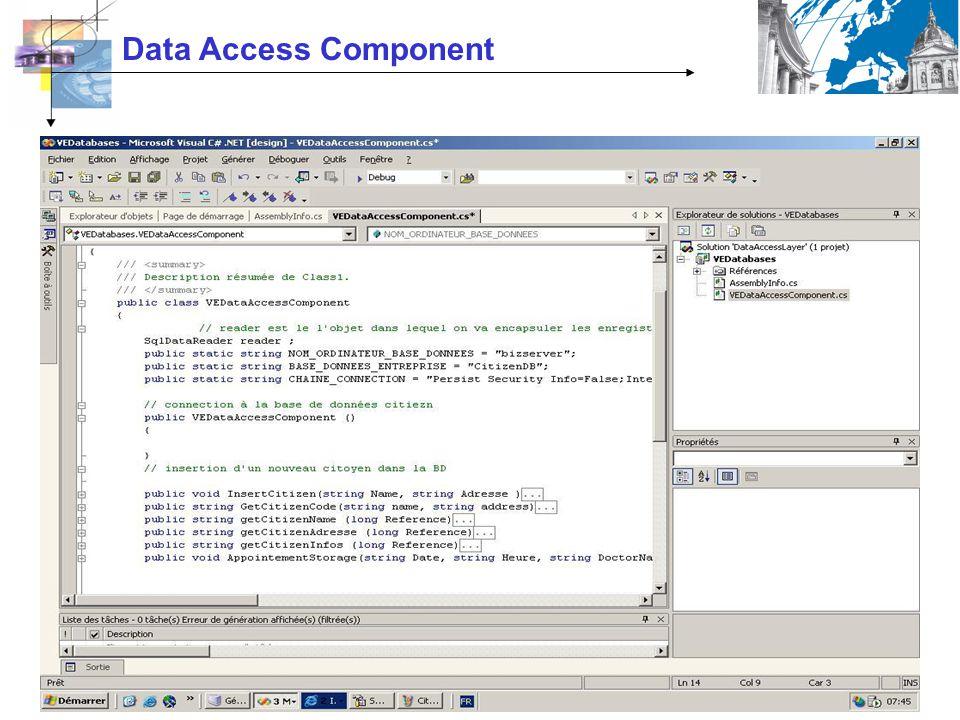 Data Access Component