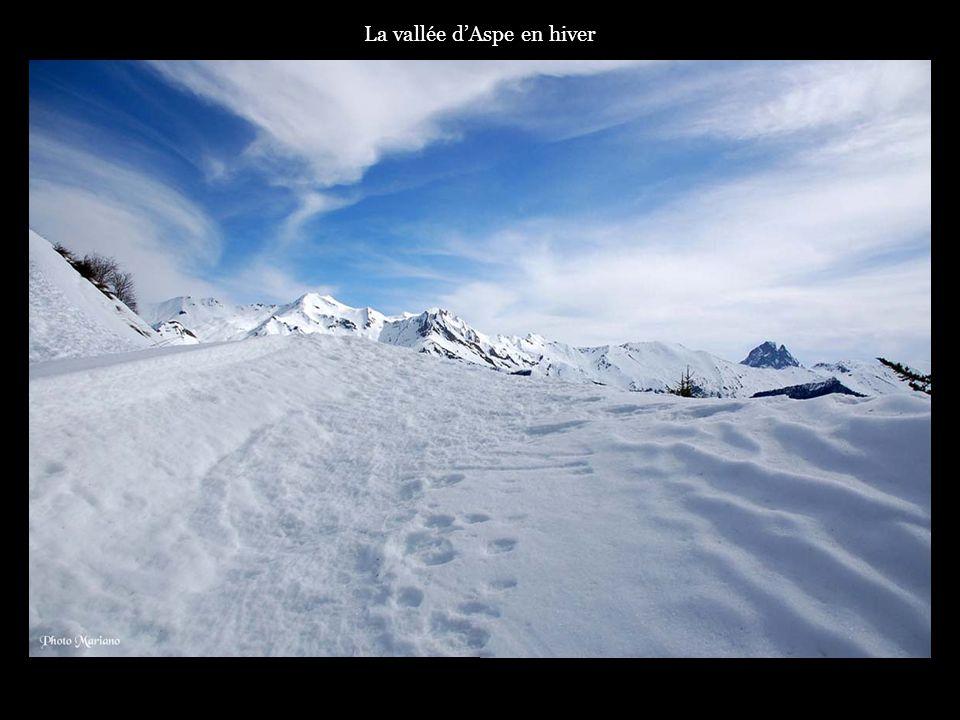 .. Les sommets enneigés