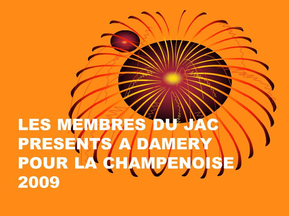 LES MEMBRES DU JAC PRESENTS A DAMERY POUR LA CHAMPENOISE 2009