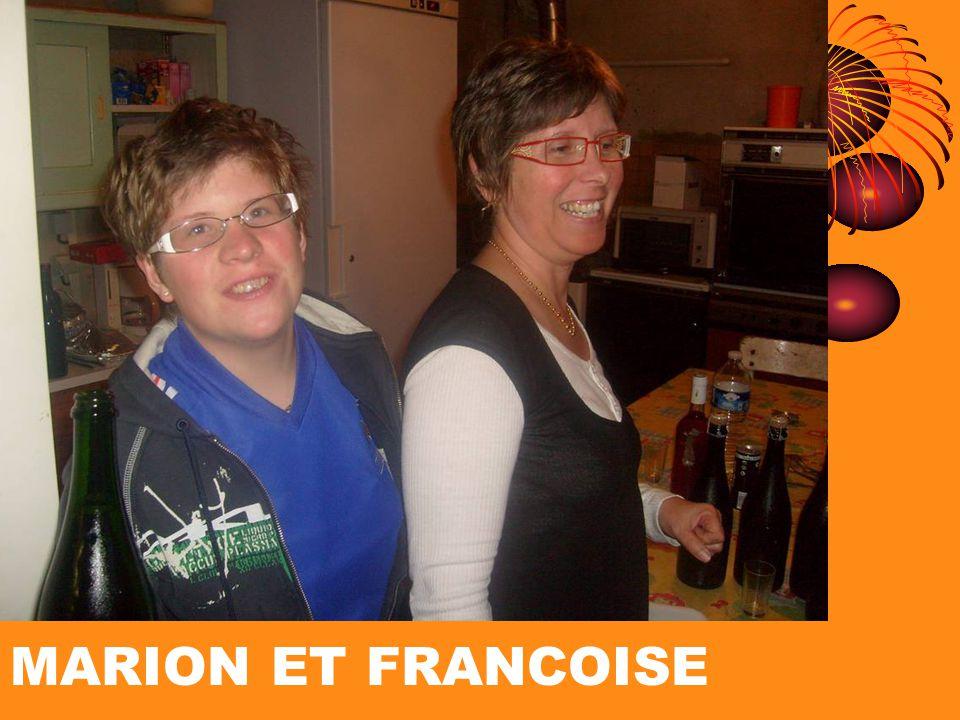 MARION ET FRANCOISE