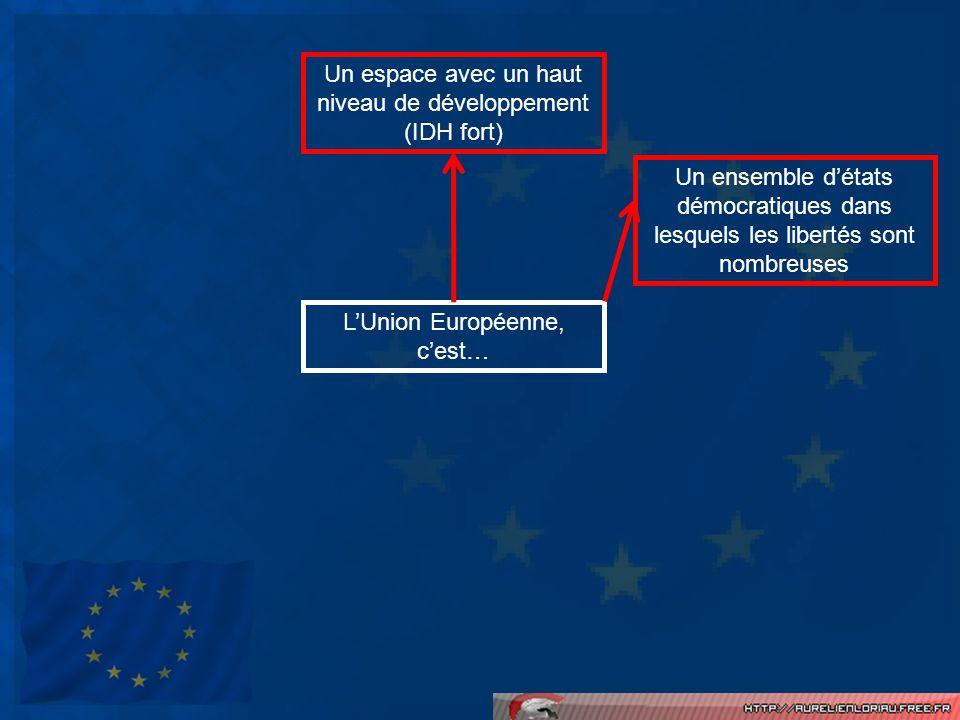 A lintérieur même des états membres de lUE, il existe des disparités de richesse entre les régions.