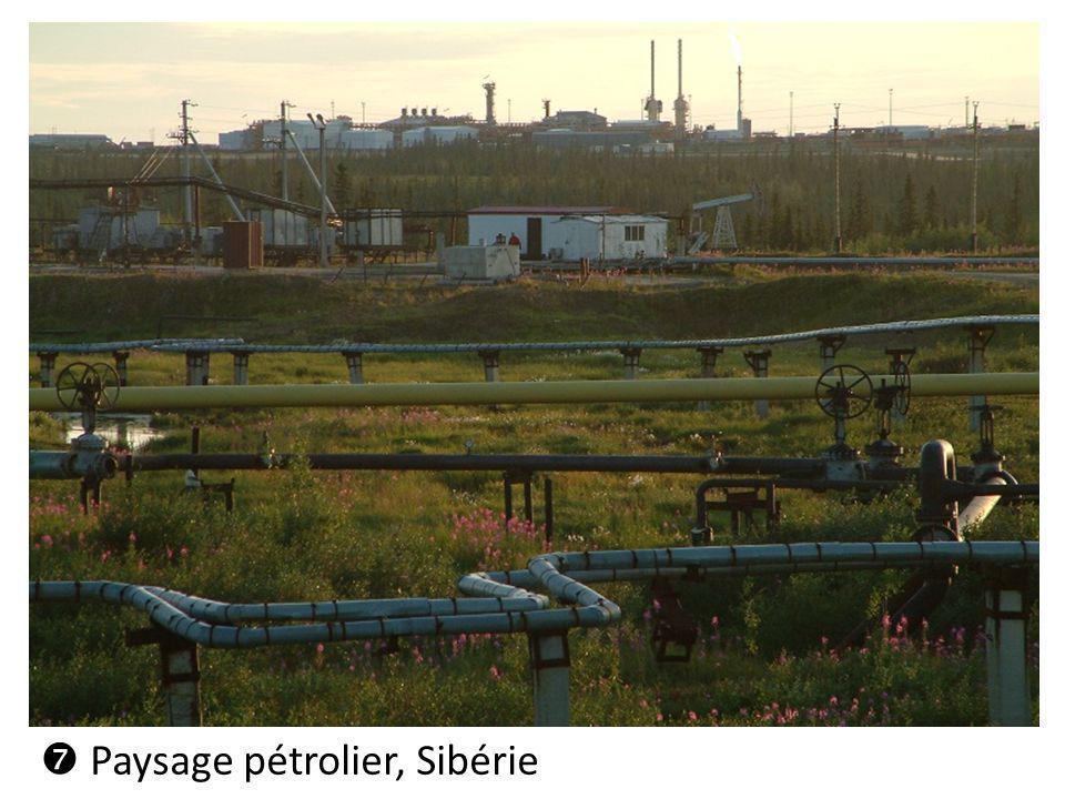 Paysage pétrolier, Sibérie