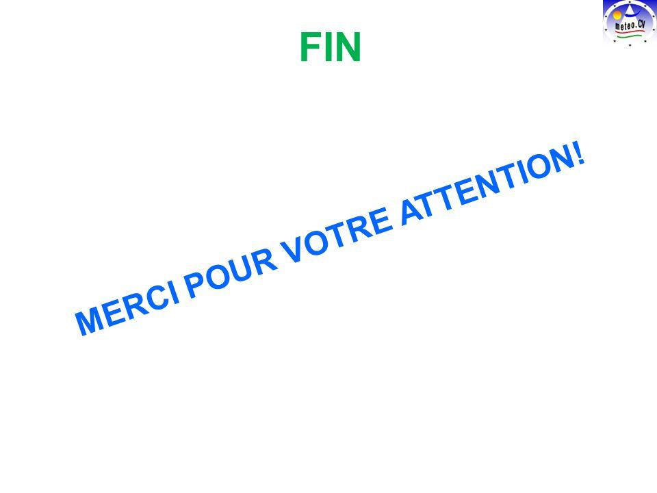 MERCI POUR VOTRE ATTENTION! FIN