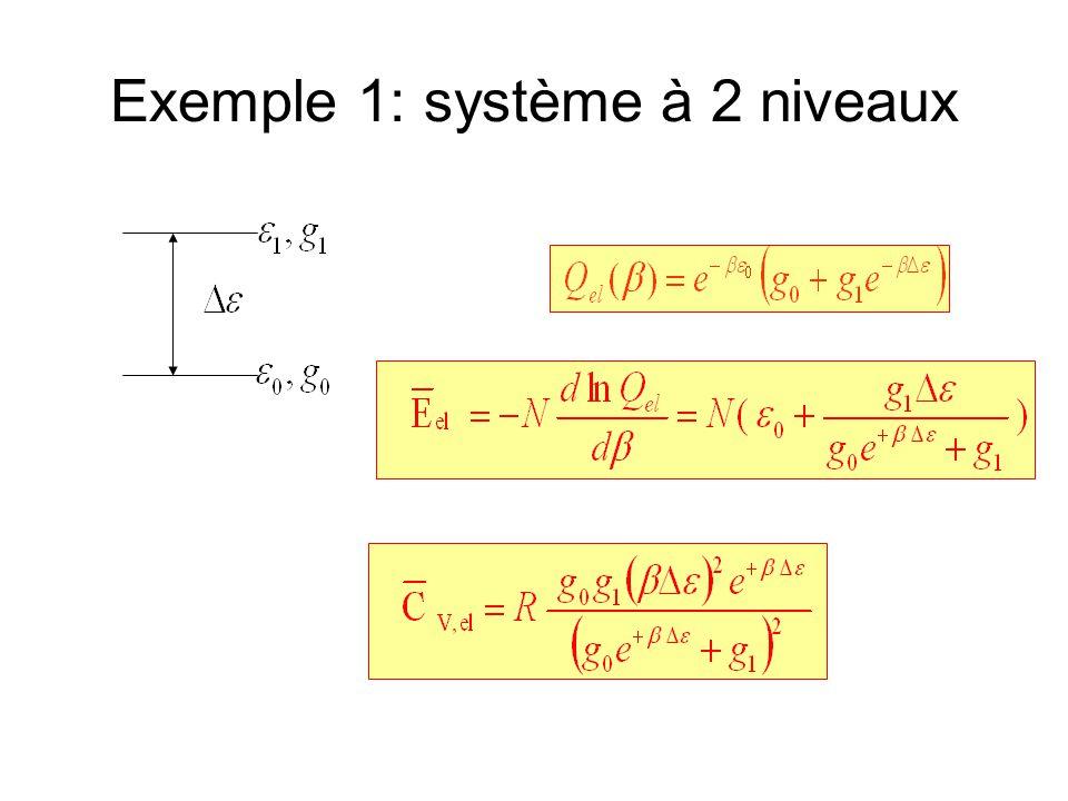 Exemple 1: système à 2 niveaux