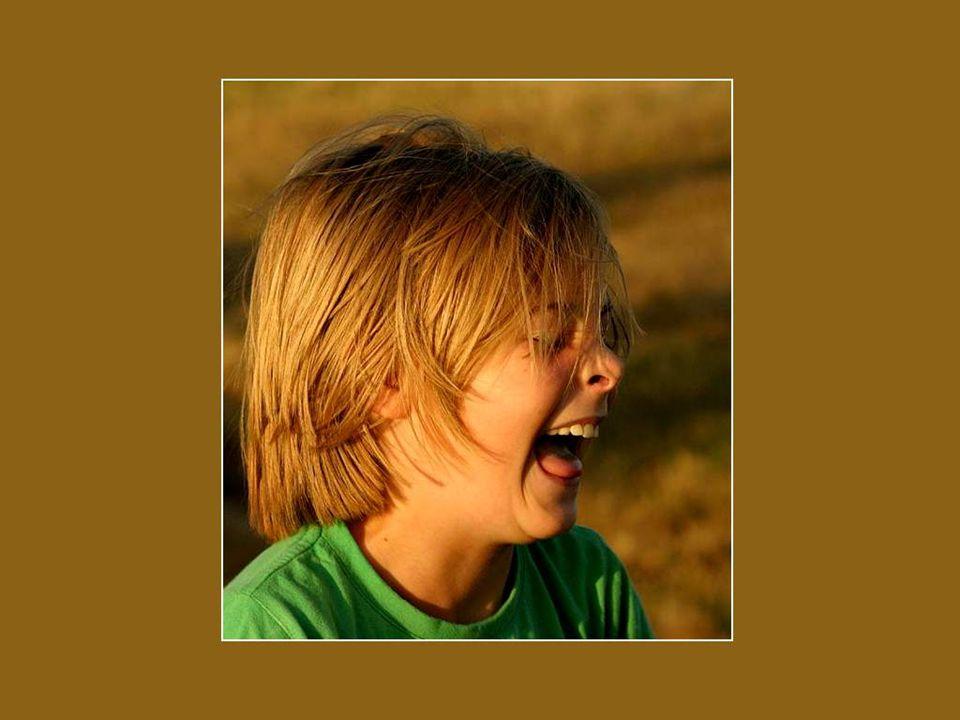 Vous riez souvent et à gorge déployée . Tant mieux alors.