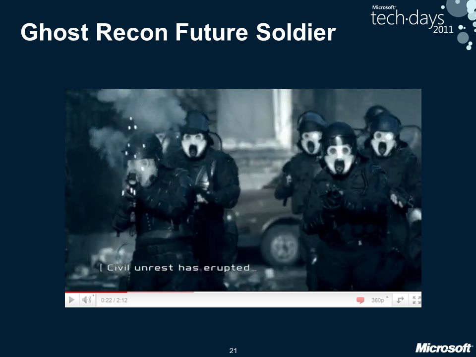 21 Ghost Recon Future Soldier