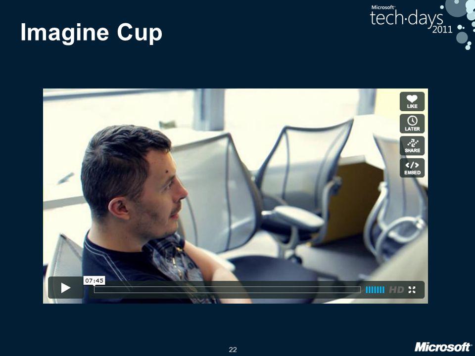 22 Imagine Cup