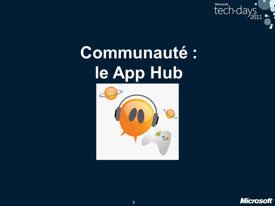 8 Communauté : le App Hub
