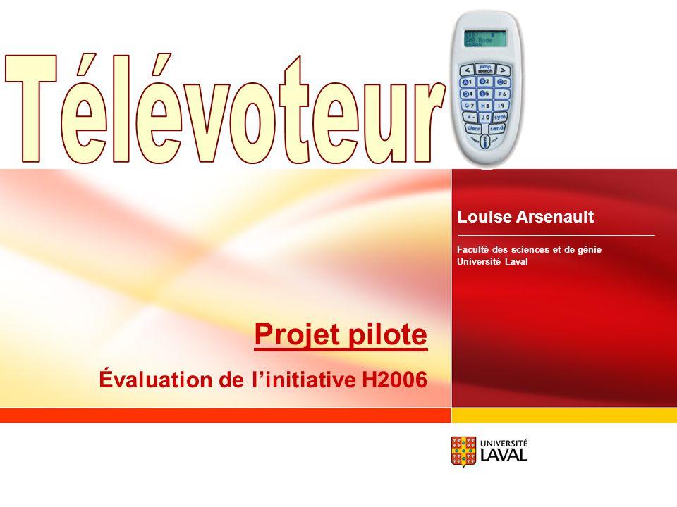 www.fsg.ulaval.ca/televoteur 30 Le télévoteur Le fonctionnement… Plusieurs types de questions possibles Objectives, numériques, tableau blanc ou verba