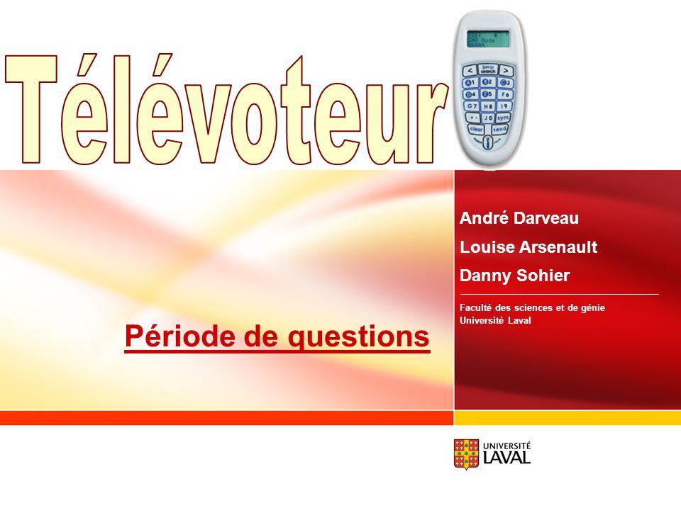 www.fsg.ulaval.ca/televoteur 48 Facilité dutilisation Les étudiants: rien à dire pour lutilisation… Hésitants à lachat Le professeur: Bien planifier a