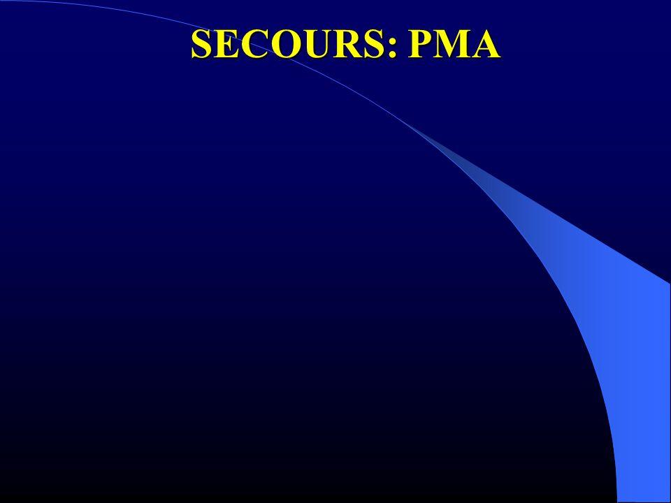 SECOURS: PMA