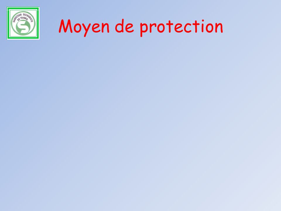 Moyen de protection