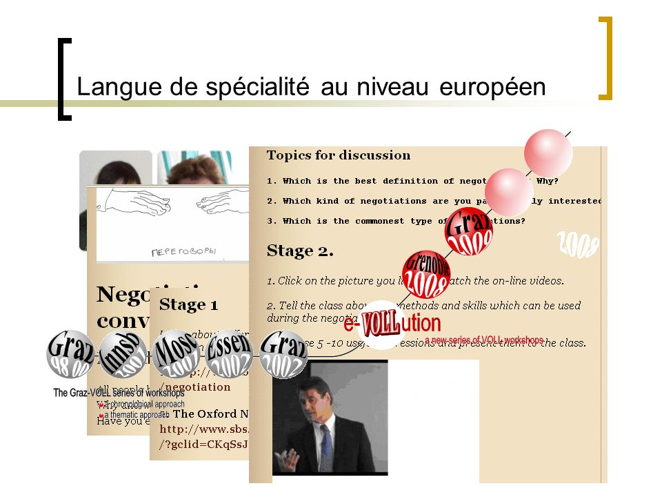 Langue de spécialité au niveau européen