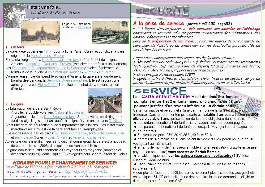 Il était une fois … La Gare de Saint Roch Il était une fois … La Gare de Saint Roch 1.Histoire La gare a été ouverte en 1847, pour la ligne Paris - Ca