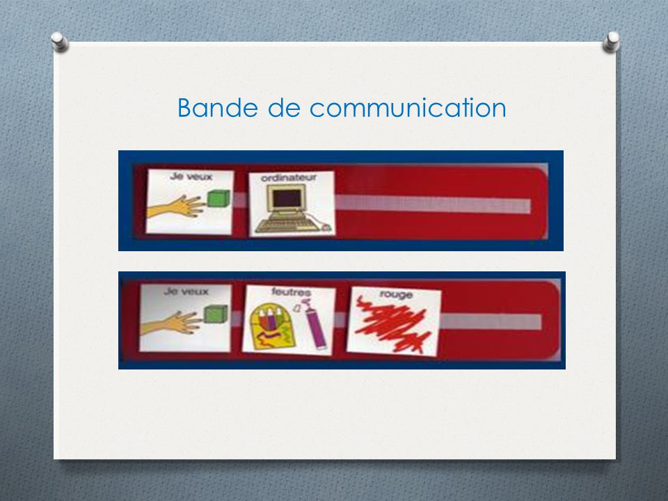 Bande de communication