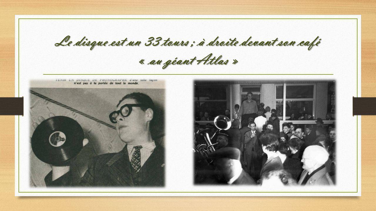 Avec Jean Nohain son ami ; un petit cigare ? Heu, pourquoi petit …