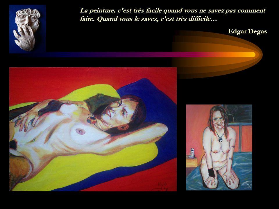 La peinture n'est pour moi qu'un moyen d'oublier la vie. Un cri dans la nuit. Un sanglot raté. Un rire qui s'étrangle. Georges Rouault