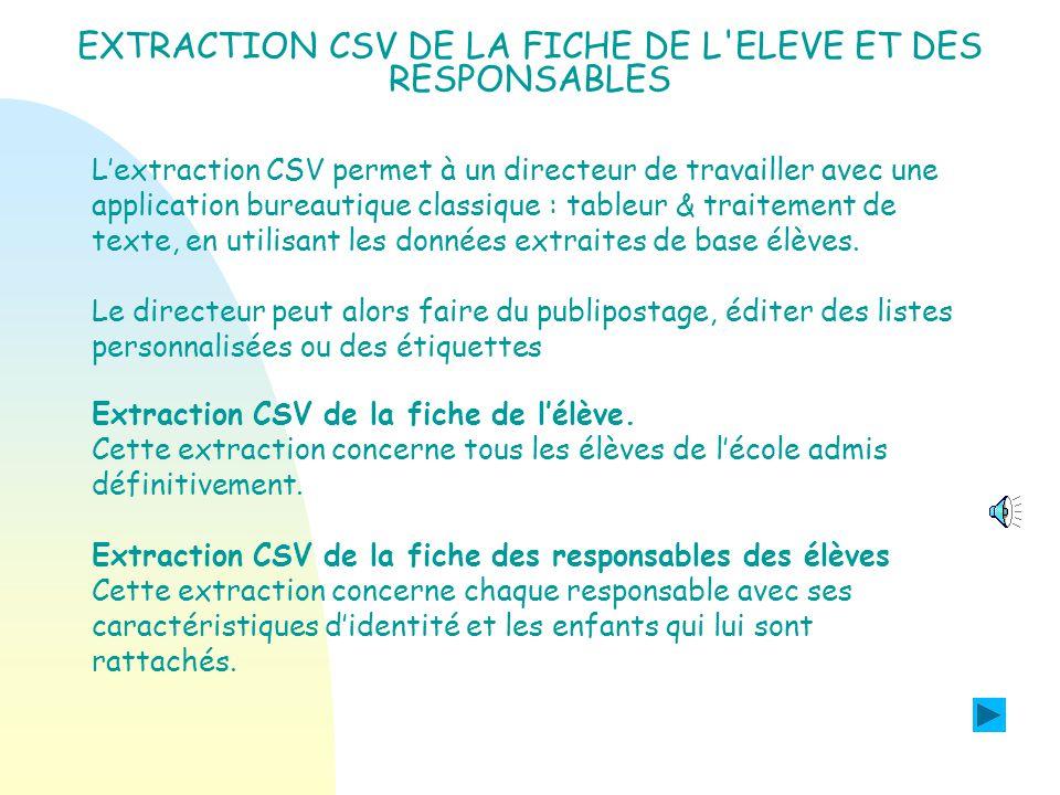 Les évolutions de la version 07. 3 PROGRAMME PERSONNALISE DE REUSSITE EDUCATIVE.