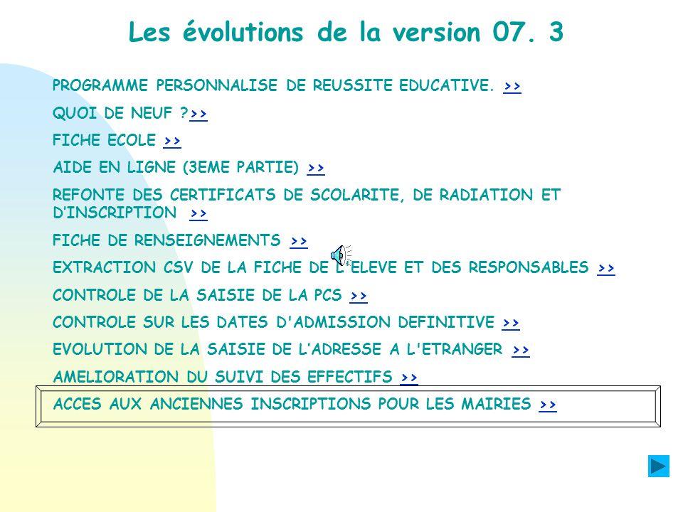 Module I.A. AMELIORATION DU SUIVI DES EFFECTIFS LIA peut consulter toutes les demandes de validation des effectifs ou des événements comptés dont la d