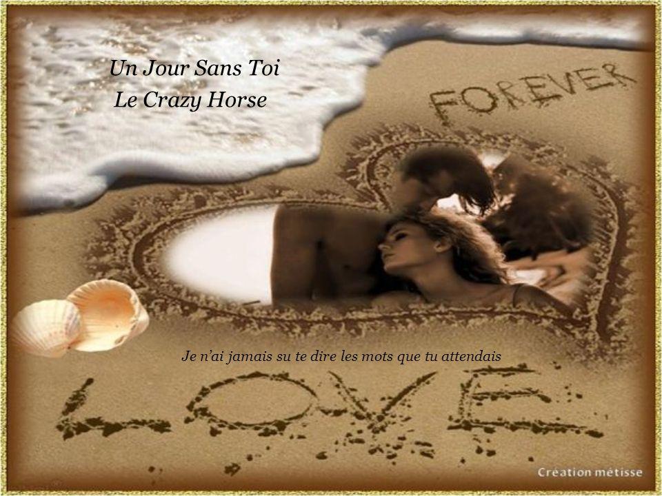 Un Jour Sans Toi Le Crazy Horse Je nai jamais su te dire les mots que tu attendais