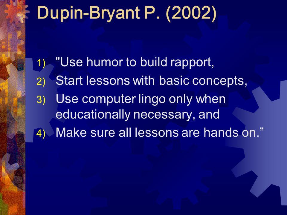 Dupin-Bryant P.