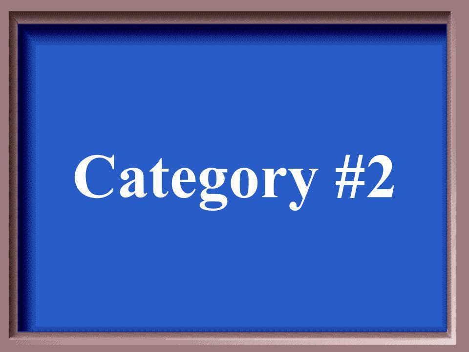 Category #1