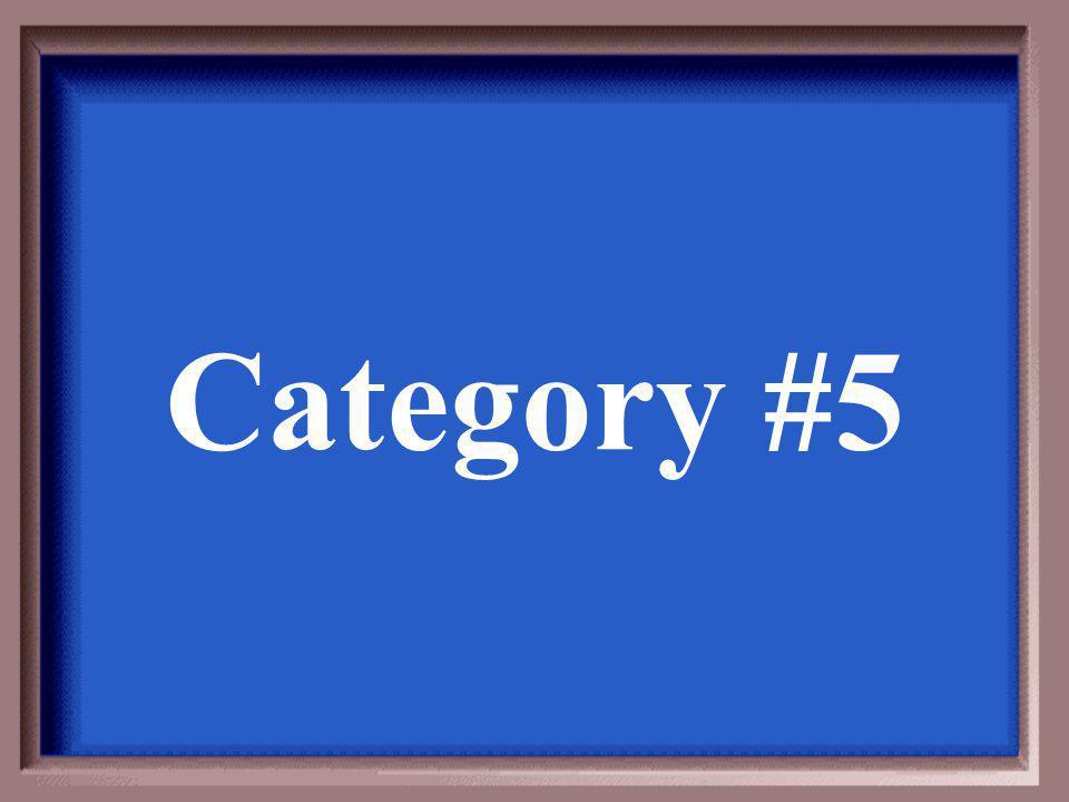 Category #4