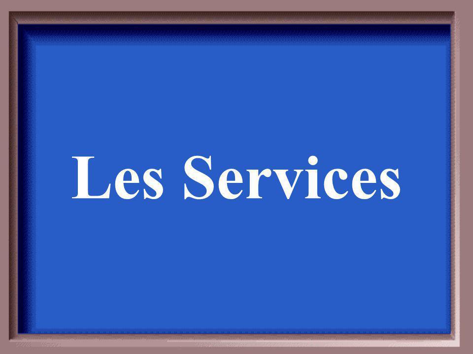 La qualité des services reflète quoi?