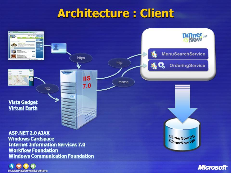 Architecture : Client