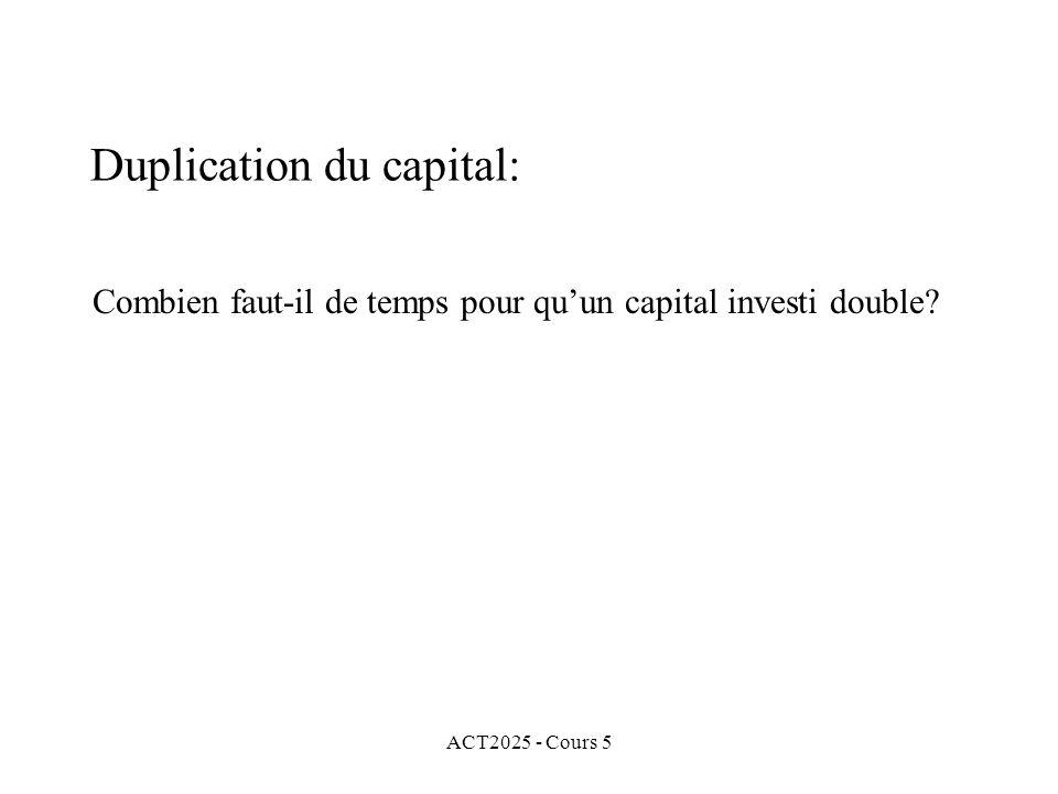 ACT2025 - Cours 5 Combien faut-il de temps pour quun capital investi double.