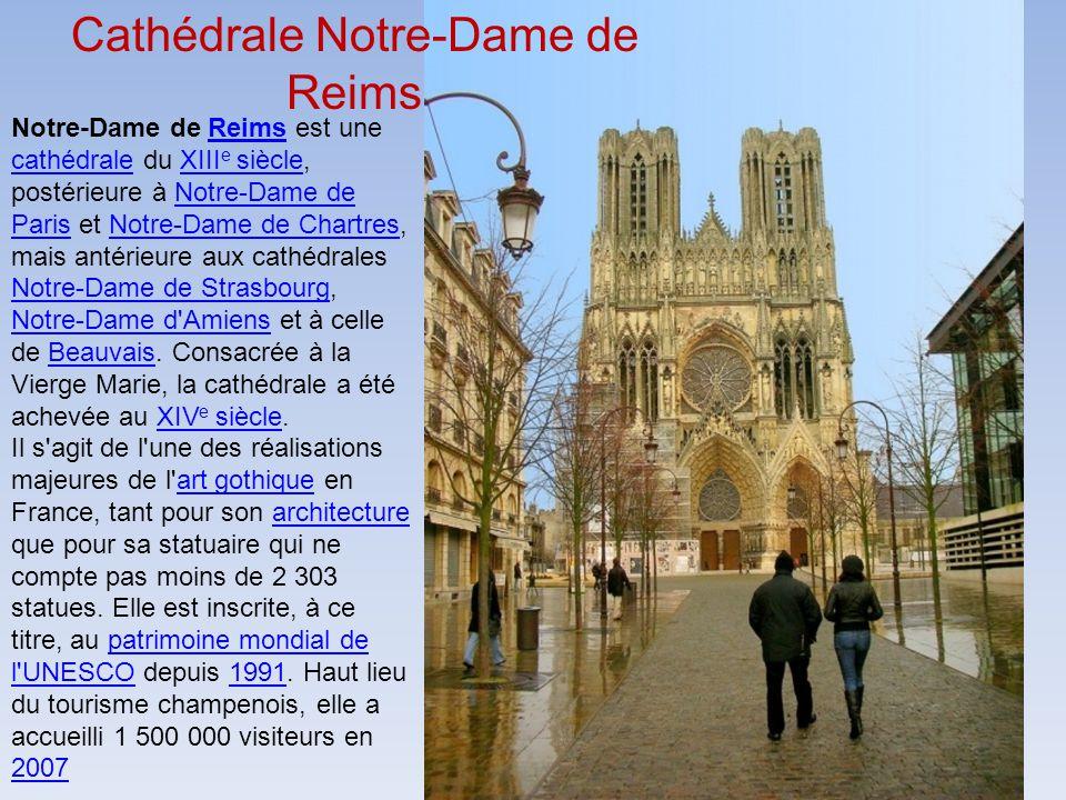 Reims Sa Cathédrale Ses églises 35 sacres royaux Ses environs