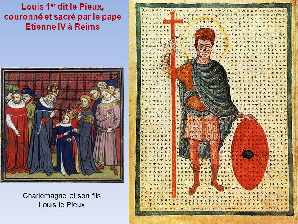 Trente cinq rois furent sacrés à Reims