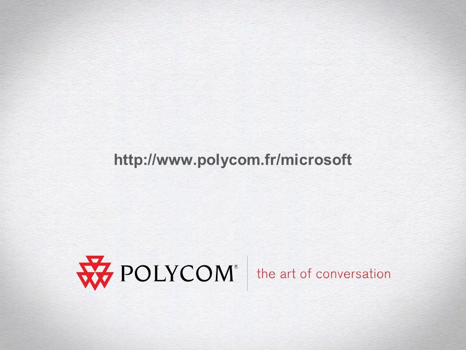 9TDF Microsoft Lync - Communications Unifiées Polycom / Microsoft http://www.polycom.fr/microsoft
