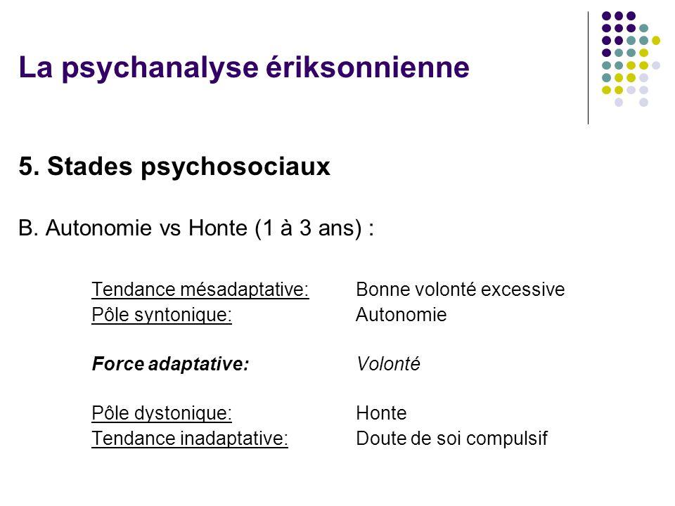5.Stades psychosociaux B.